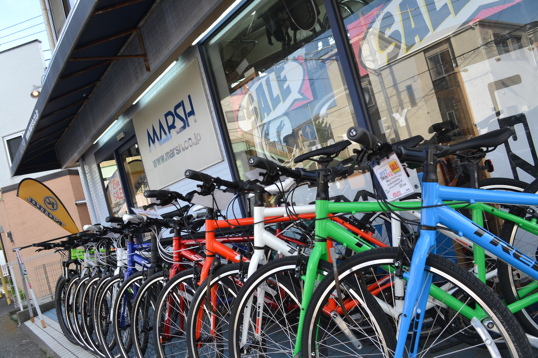 藤沢市のスポーツ自転車屋MARSHの写真