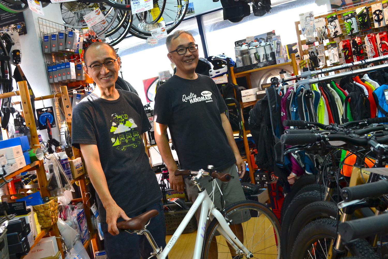 藤沢市のスポーツ自転車屋MARSH(店員)2の写真