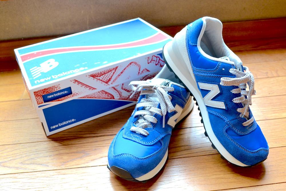 履き心地超良い靴!ニューバランス!の写真