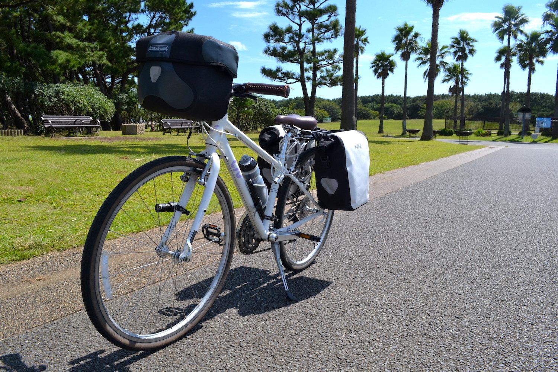 自転車日本一周の装備の写真