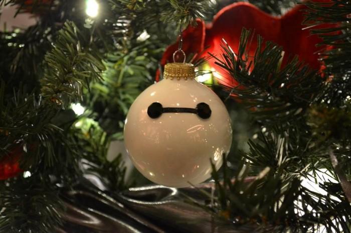 ベイマックスのクリスマスツリーの写真