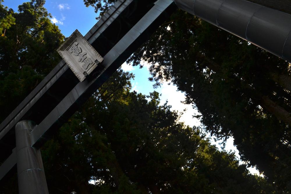北口本宮冨士浅間神社(鳥居)の写真