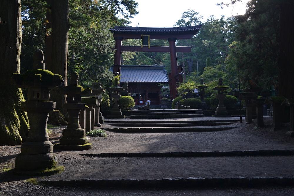 北口本宮冨士浅間神社(大鳥居)の写真