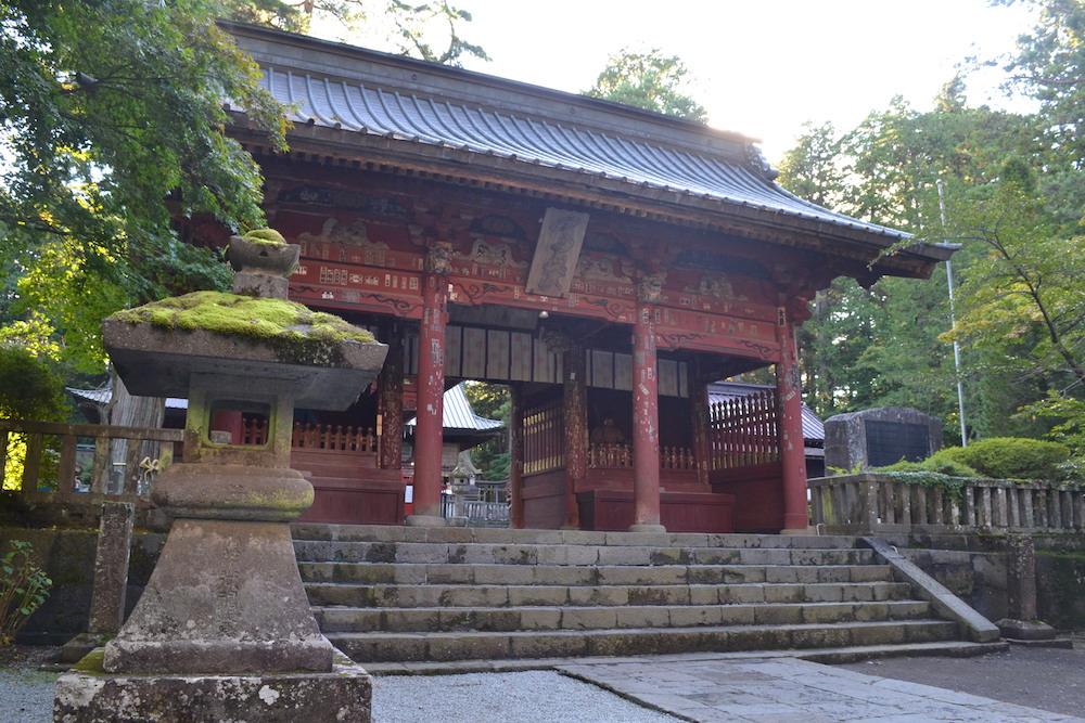 北口本宮冨士浅間神社(随神門)の写真