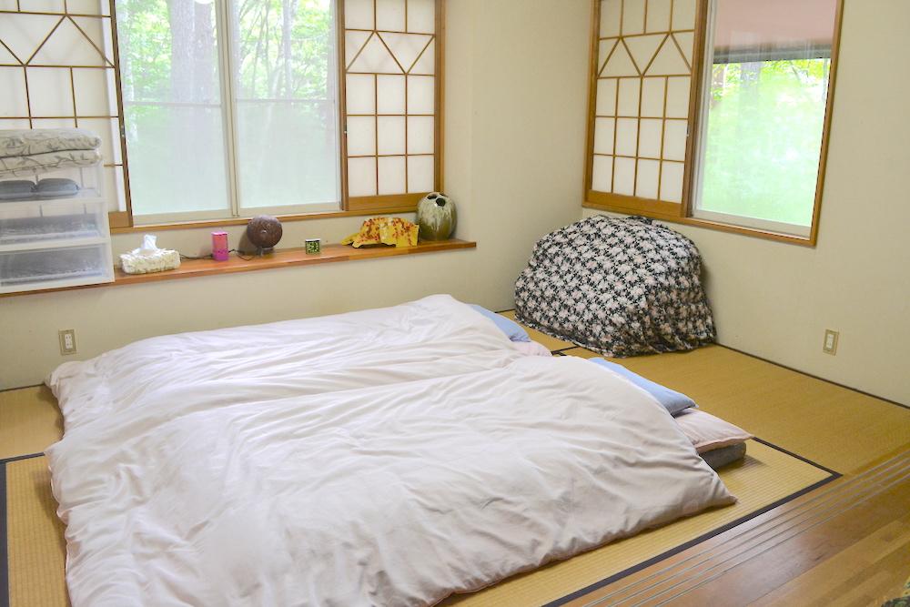 山梨県Airbnb一軒家(和室)の写真
