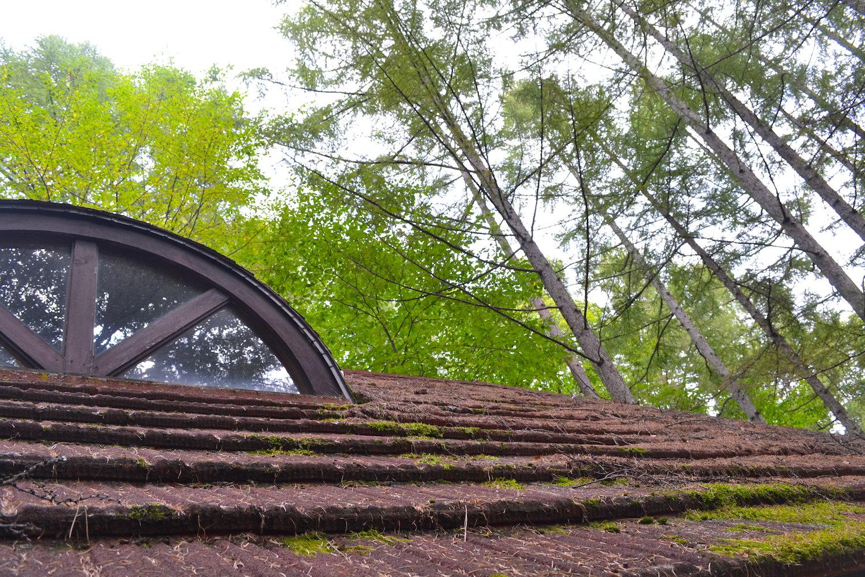 山梨県Airbnb一軒家(屋根)の写真