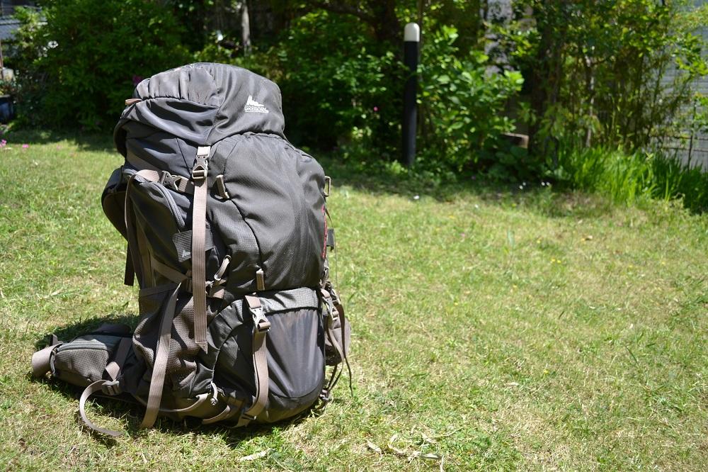 世界一周海外旅行用バックパック選び|フロントアクセスが便利☆