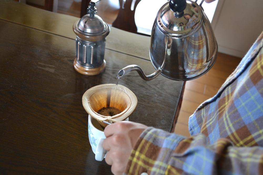 コーヒー布ドリップ(カリタ:KH-5)の写真