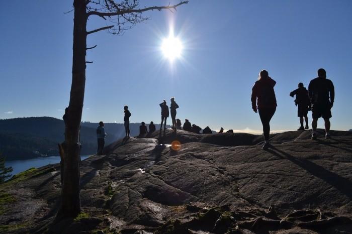 deepcove展望岩の写真