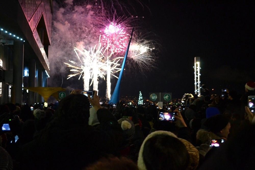 カナダプレイスで年越しイベント! ☆Happy New Year☆