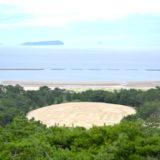 香川県観音寺市|銭形砂絵の写真