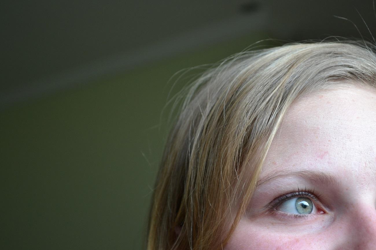 エリサの目の写真
