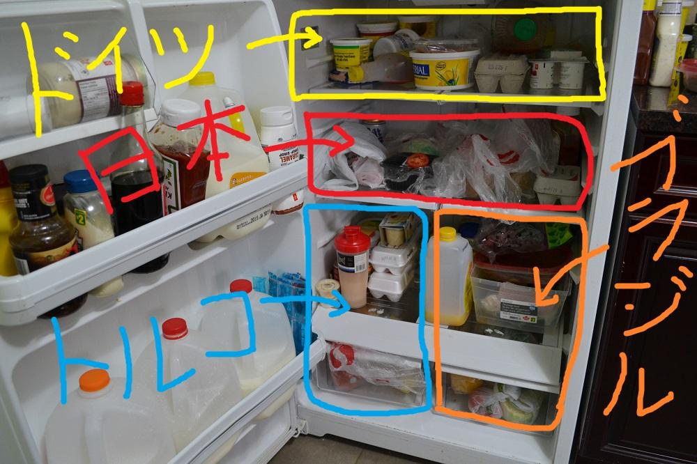 インターナショナル冷蔵庫の写真