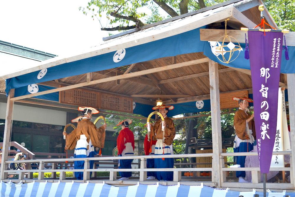 和歌山県||熊野那智大社(那智の田楽)の写真