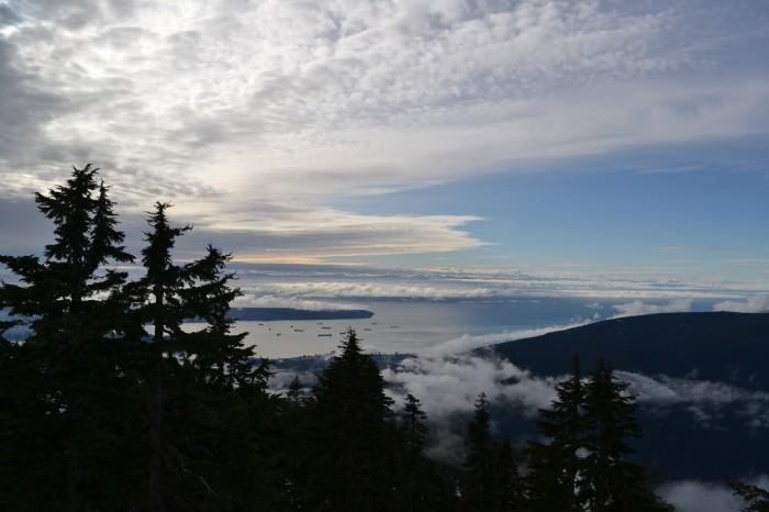 頂上からの眺めの写真
