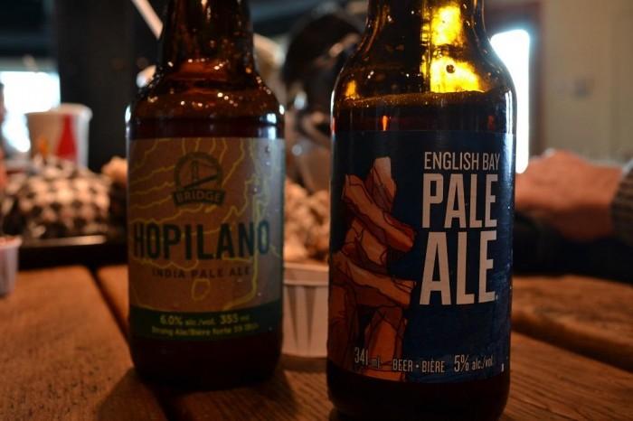 ローカルビールの写真