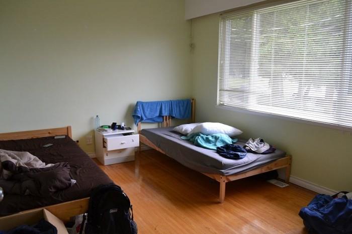 バンクーバーの部屋の写真