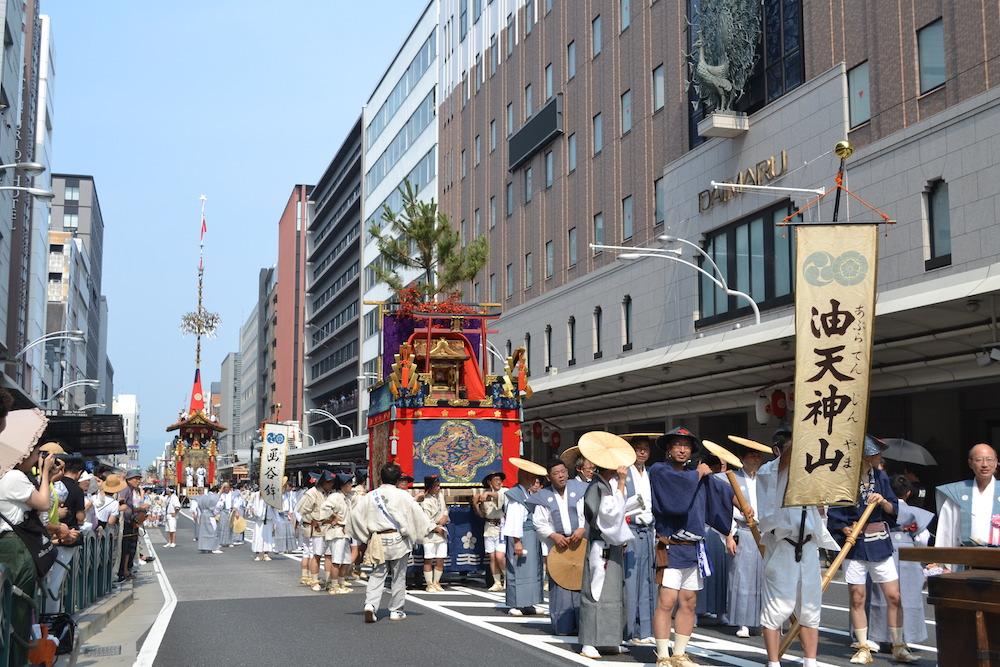 京都祇園祭・山鉾巡行(油天神山)の写真