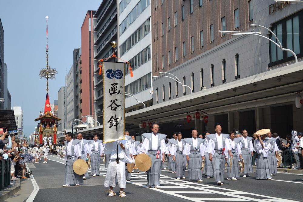 京都祇園祭・山鉾巡行(函谷鉾)の写真