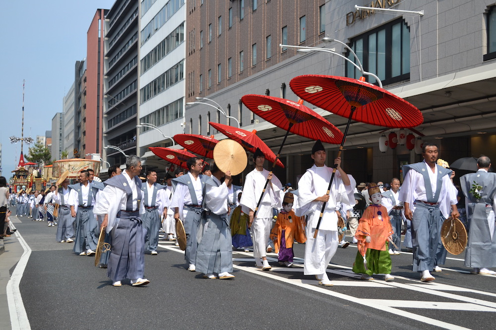 京都祇園祭・山鉾巡行(君麻呂)の写真
