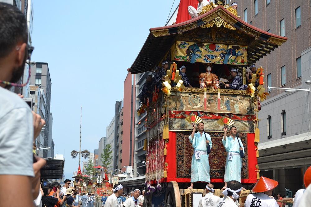 京都祇園祭(前祭山鉾巡行)の写真