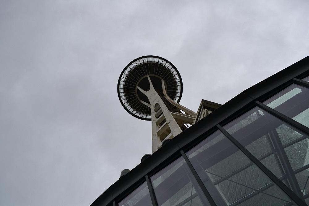 シアトルのスペースニードルの写真