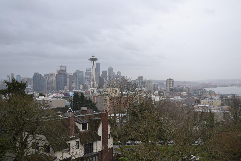 シアトル・ケリーパークからの眺めの写真