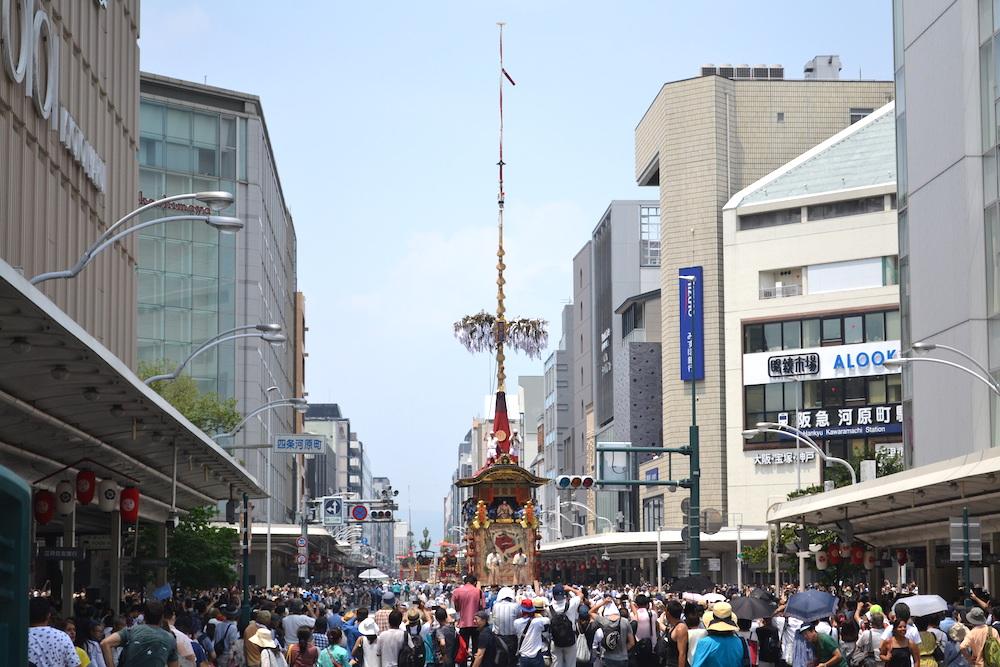 京都祇園祭・山鉾巡行(四条烏丸)の写真