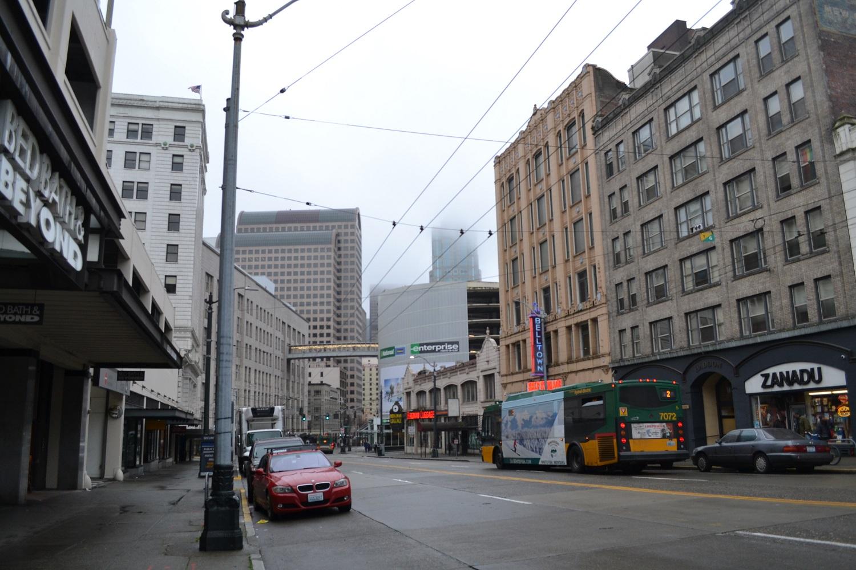 シアトルの町並み1の写真