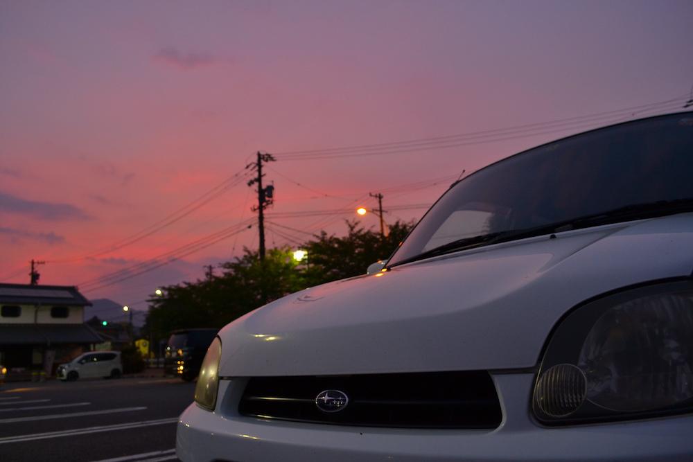 日本一周用の車選び|15年前の中古軽自動車でも長期旅行できました〜