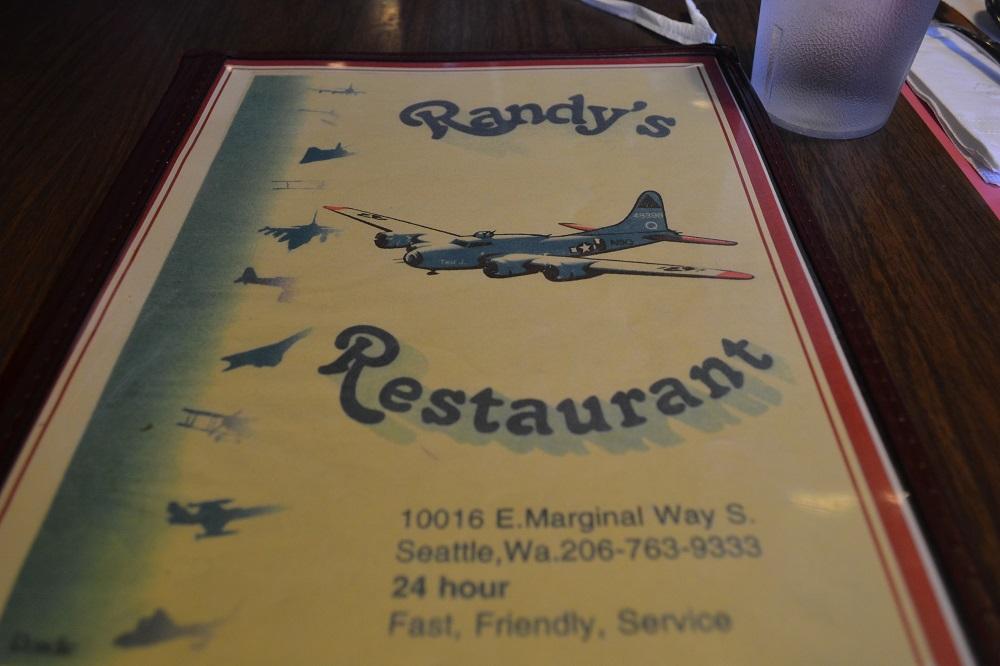 Randy'sのメニューの写真