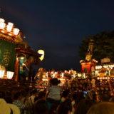 埼玉|八坂神社・熊谷うちわ祭の山車集結の写真