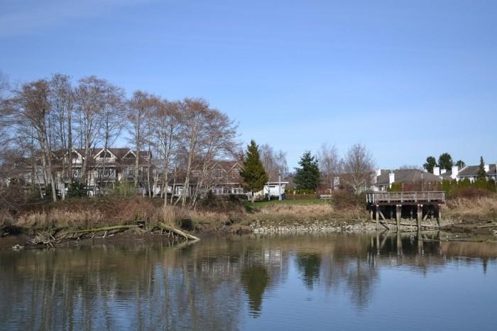 スティーブストンの町並みの写真