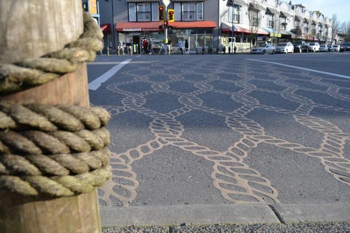 スティーブストンの横断歩道の写真