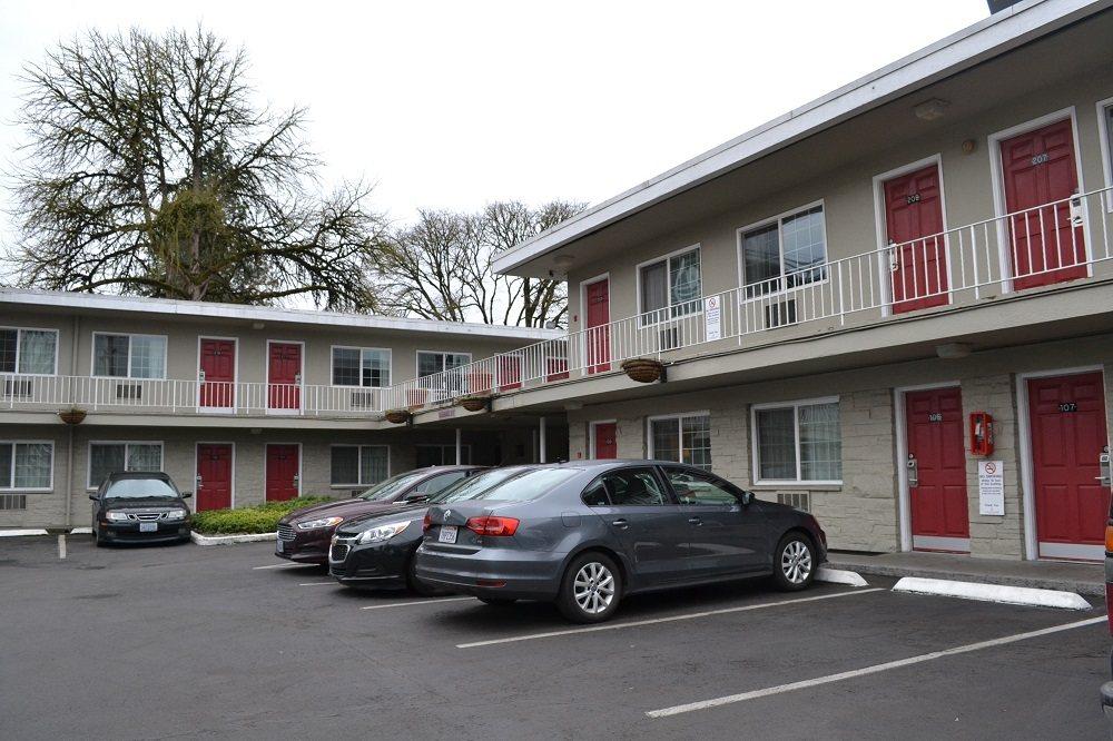 モーテルの外観の写真