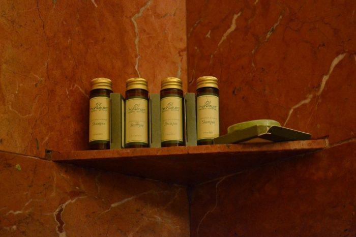 並べられた石鹸の写真