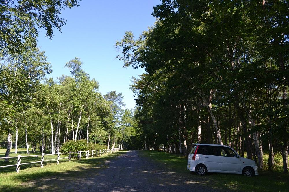盛岡岩洞湖家族旅行村の駐車場の写真