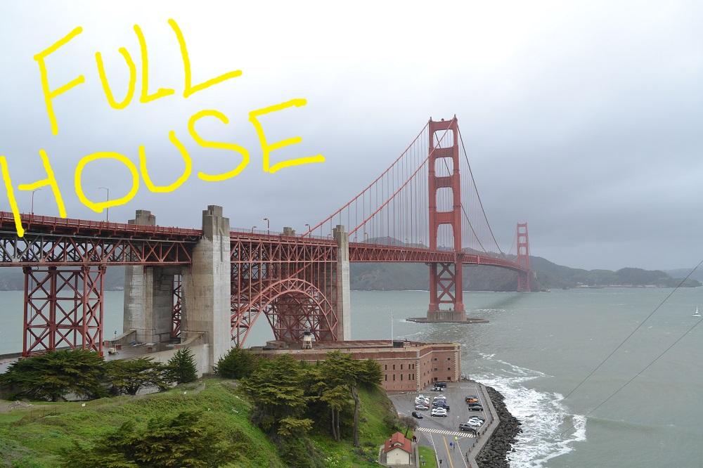 サンフランシスコ|フルハウスのロケ地巡りで勘違いしつつテンション上げ