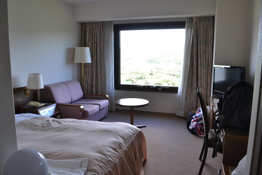 ホテルシティプラザ北上の個室(ダブルベッド)の写真