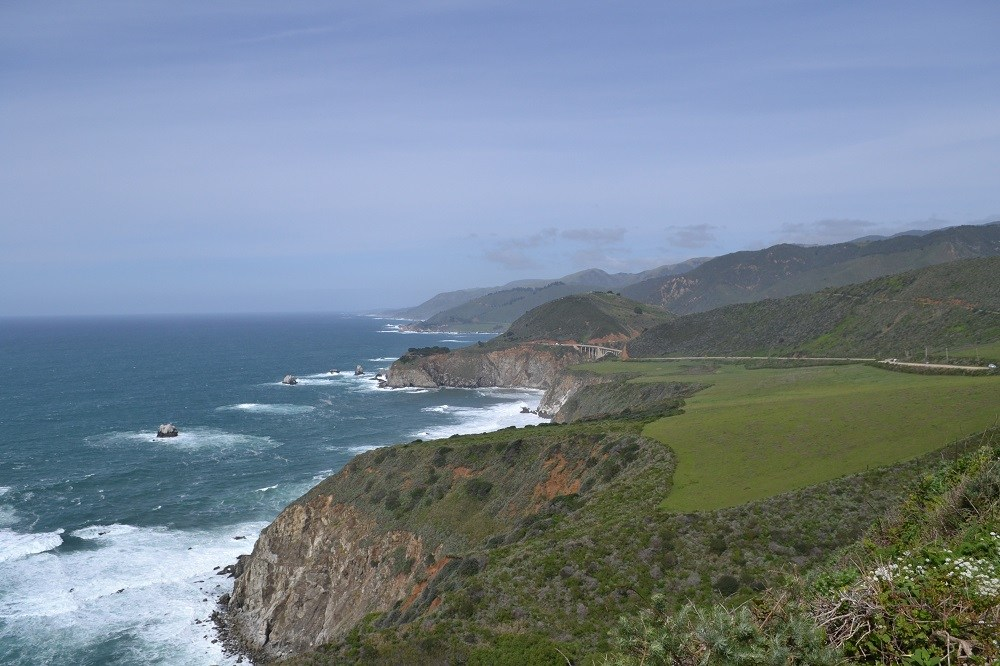 アメリカ西海岸線の写真