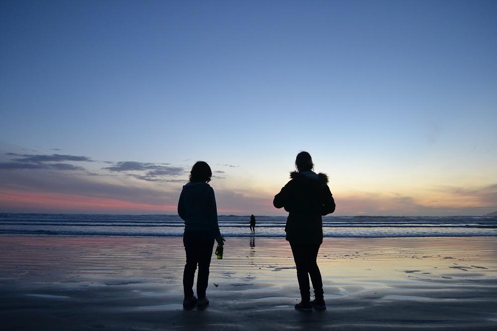 ピズモビーチのサンセットの写真