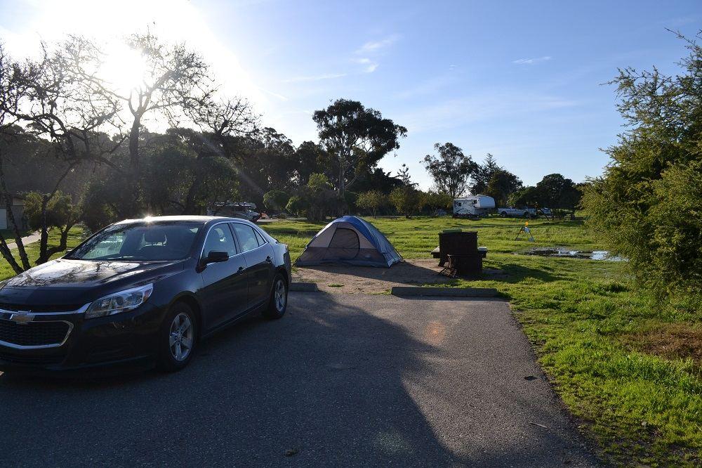 ピズモビーチキャンプ場の写真