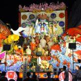 青森八戸三社大祭の山車(船玉大神)の写真