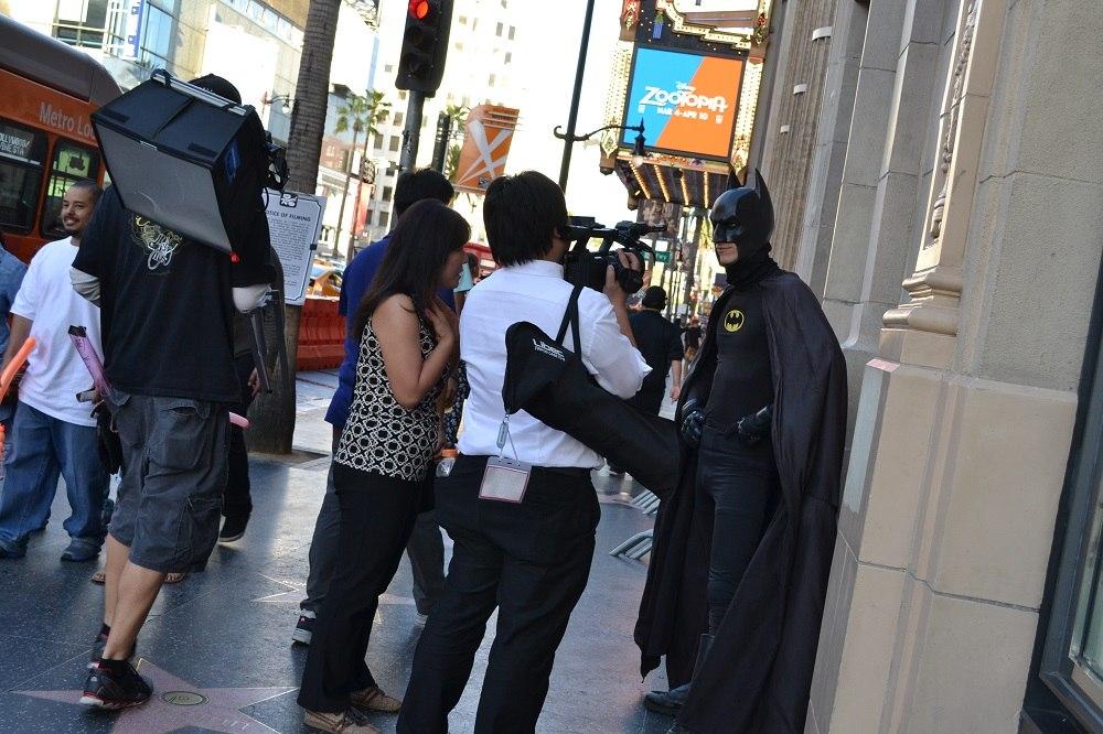 バットマンの写真