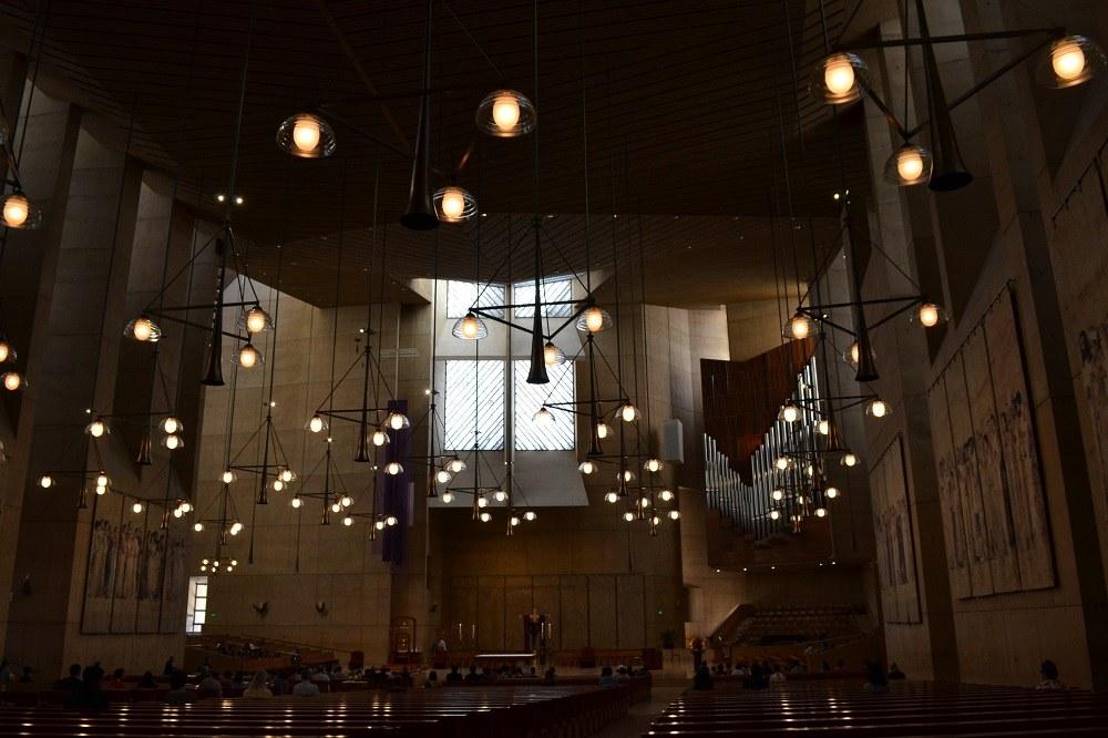 天使のマリア大聖堂の写真