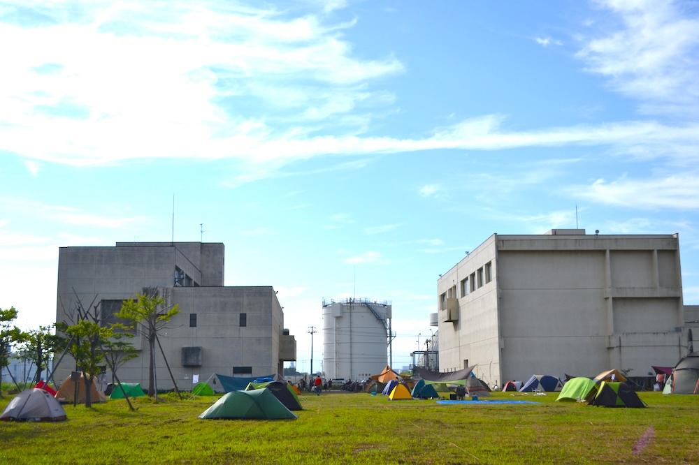 青森県ねぶた祭無料サマーキャンプサイトの写真