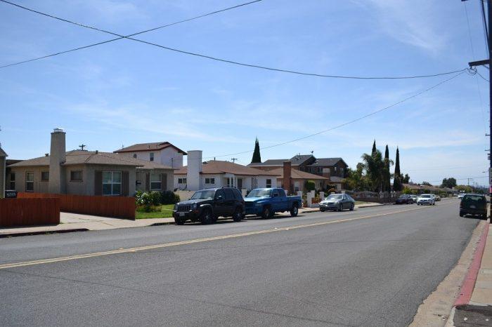 サンディエゴの住宅街の写真