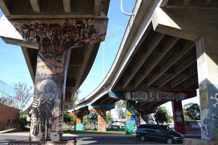 サンディエゴの落書き1の写真