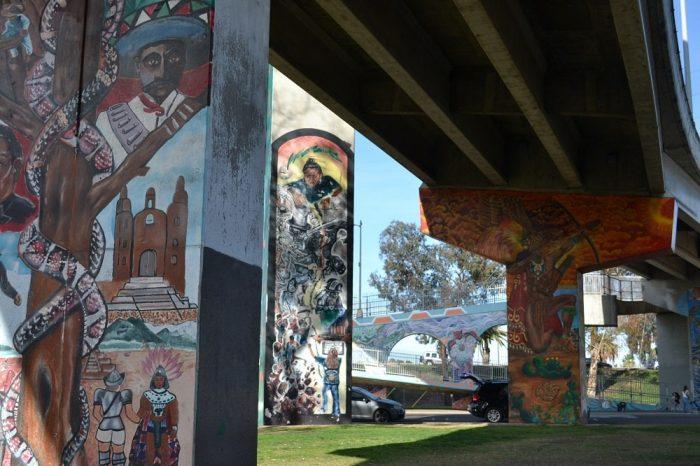 サンディエゴの落書き2の写真