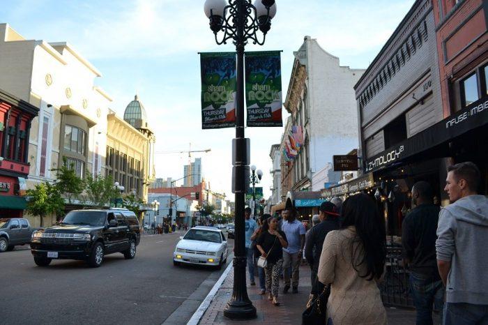 サンディエゴのダウンタウンの写真